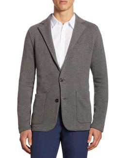 Modern Fit Wool & Cashmere Sportcoat