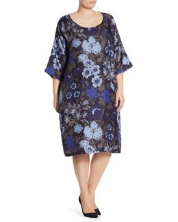 Voyage Delicato Silk Floral Dress