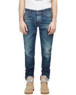 Skinny Vintage Wash Jeans