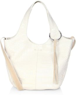Finley Small Leather Shopper Bag