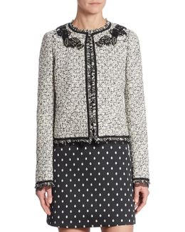 Tweed Embroidered Jacket