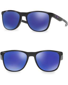 Trillbe X 52mm Round Sunglasses