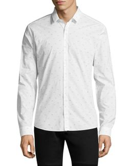 Cotton Button-down Shirt