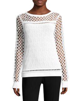 Nadine Cutout Sweater