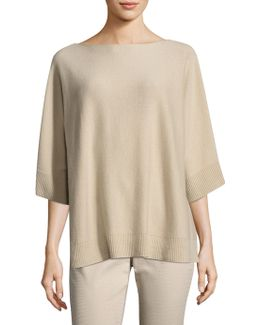 Relaxed Oversized Cashmere Sweater