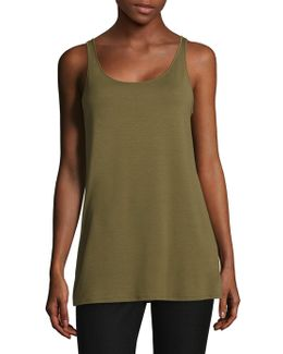 Scoop Neck Tank Top