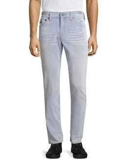Geno Heathered Slim-fit Jeans