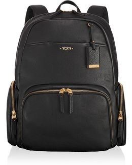 Calais Pebbled Leather Backpack