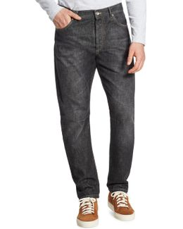 Straight-fit Five-pocket Jeans