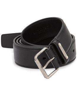 Ysl Leather Belt