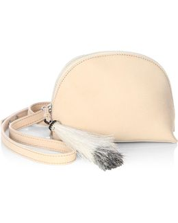 Leather Convertible Crossbody Pouch