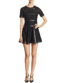 Fit-&-flare Lace Dress