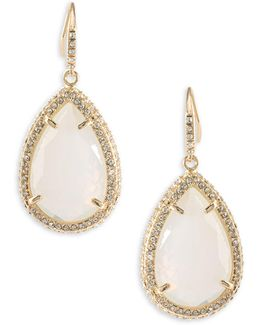 Anytime Anywhere Crystal Teardrop Earrings