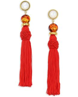 Jambo Tassel Earrings