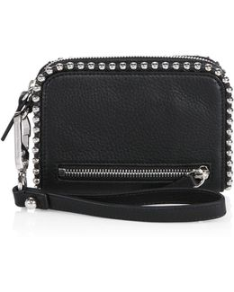 Fumo Studded Large Leather Wallet
