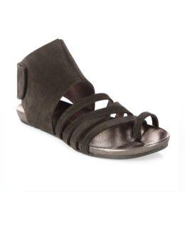 Jezabel Castoro Lame Toe Ring Sandals