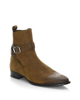 Holden Buckle Jodhpur Ankle Boots