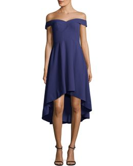 Sweetheart High-low Cocktail Dress