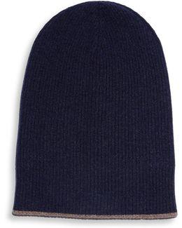 Reversible Cashmere Hat