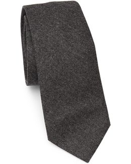 Solid Flannel Tie