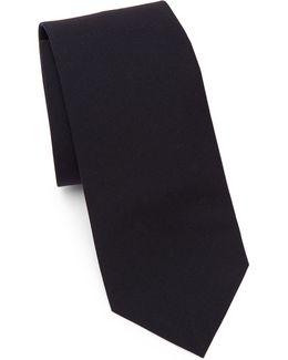 Solid Wool Tie