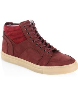 High-top Boxing Sneakers