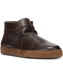 Novato Leather Chukka Boots