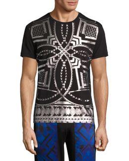 Metallic Kaleidoscope T-shirt