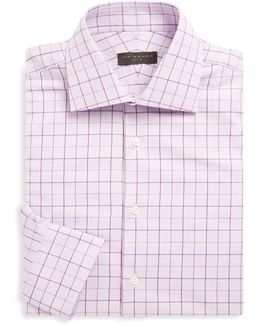 Cotton Overcheck Shirt
