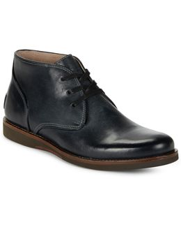 Brooklyn Leather Chukka Boots