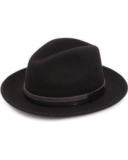 Collection Wide Brim Wool Fedora Hat
