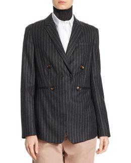 Wool Striped Jacket