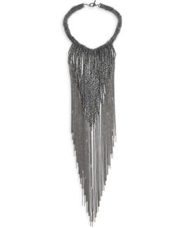 Mohair Waterfall Necklace
