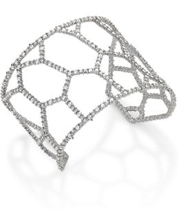 Elements Honeycomb Crystal Cuff