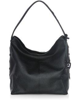 Soho Leather Hobo Bag