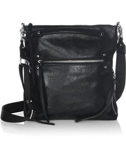 Logan Leather Hobo Bag