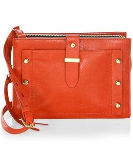 Warren City Leather Crossbody Bag