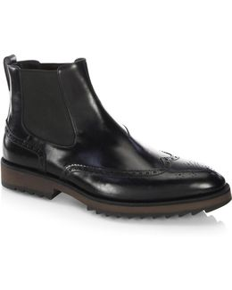 Beatles Leather Chelsea Boots