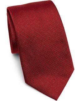 Silk Herringbone Tie