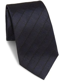 Textured Striped Tie