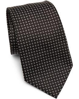 Silk Linear Tie