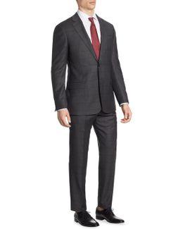 Windowpane G Line Suit