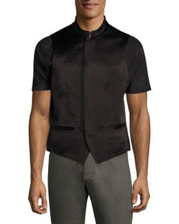 Slim-fit Double Breasted Vest