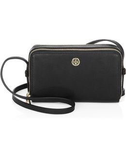 Parker Double-zip Leather Mini Bag