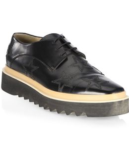 Star Lace-up Creeper Derbys