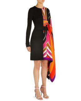 Caftan Belted Dress