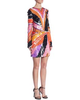 Pailette Sequin Dress