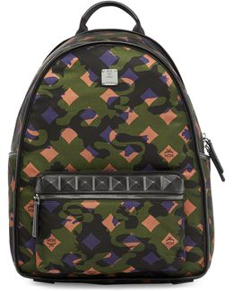 Dieter Munich Lion Camouflage Backpack