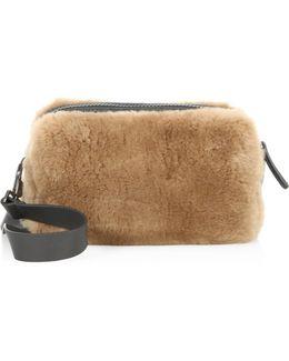 Beaver Fur Crossbody Bag