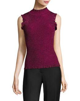 Italian Stardust Sleeveless Sweater